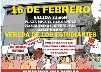 """Leganés """"ciudad abandonada"""": este domingo se retoman las movilizaciones"""
