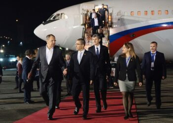 Llega a Venezuela en visita oficial el canciller de Rusia Serguéi Lavrov
