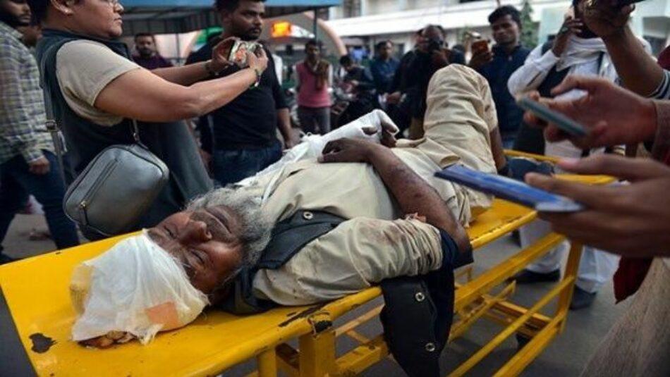 Aumenta a 33 la cifra de muertos por disturbios en India