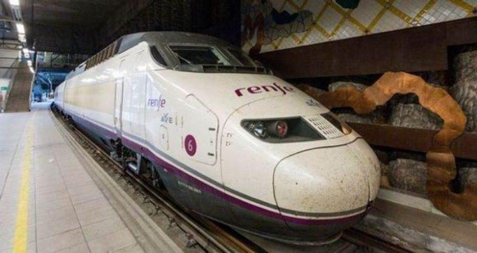 El modelo ferroviario del PSOE y el PP, 71% de inversión para el AVE que solo usa el 3,8 % de quien se desplaza en tren