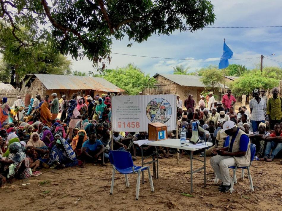 Miles de personas forzadas a huir por un nuevo estallido de violencia en el norte de Mozambique