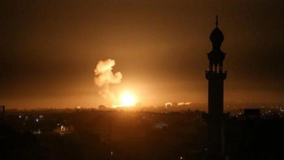 Israel vuelve a bombardear objetivos palestinos en la Franja de Gaza