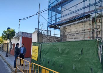 Adelante Andalucía pide la paralización de la construcción de una casa de apuestas en Pilas a 100 metros de un instituto