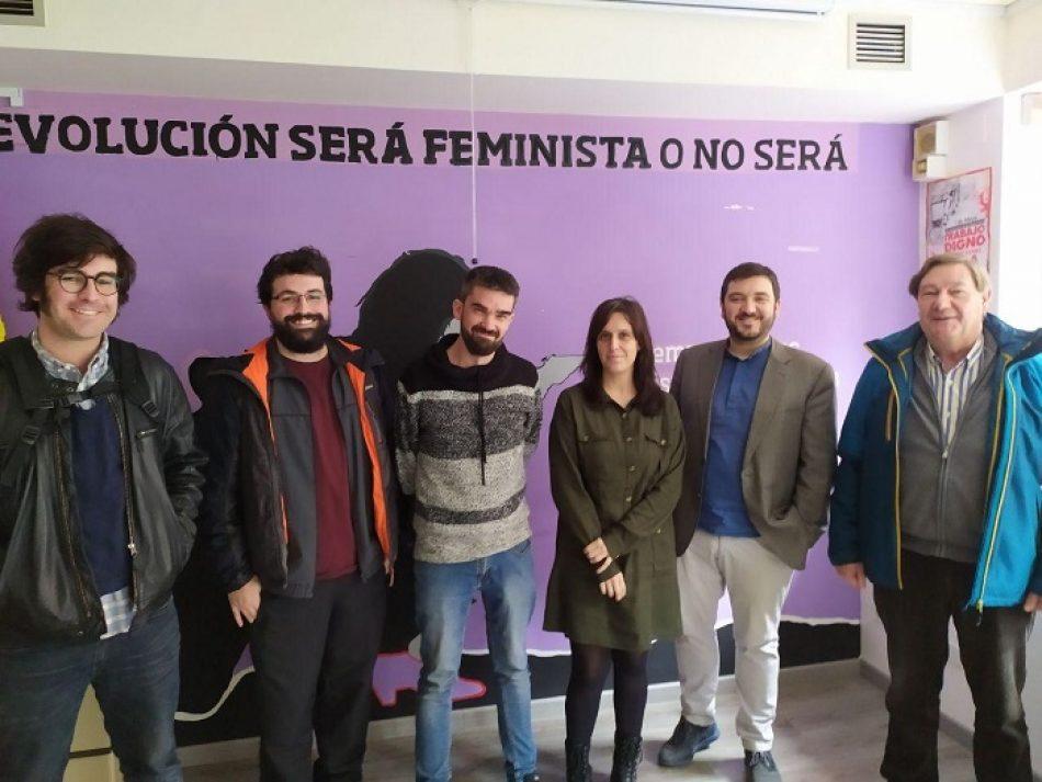IU Madrid continúa su ronda de encuentros con fuerzas políticas reuniéndose con Anticapitalistas
