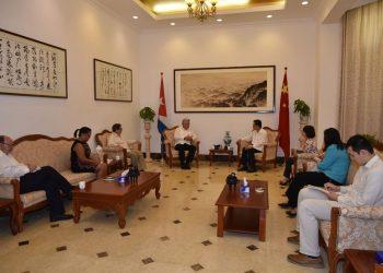 El presidente cubano Díaz-Canel reitera el apoyo a China en la lucha contra el coronavirus
