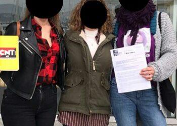 CNT Vigo: convocatoria de la Huelga Feminista del 8M