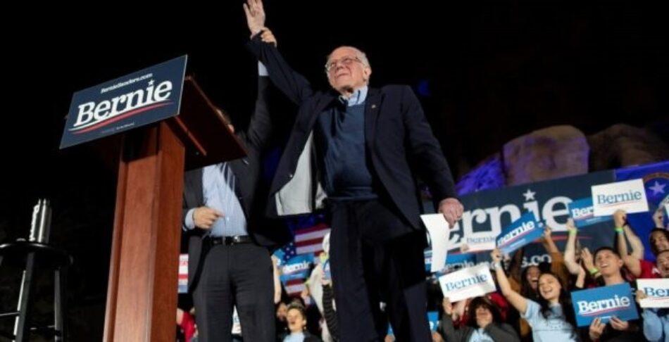 Bernie Sanders se proclama ganador en las primarias de Nevada y se fortalece en la carrera presidencial