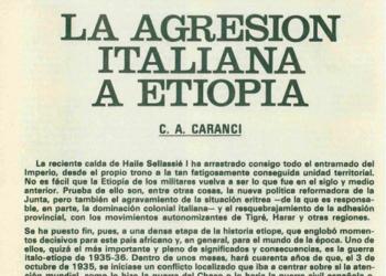 La vergonzosa invasión italiana de Etiopía (Breve introducción y noticia del día 9 de mayo de 1936)
