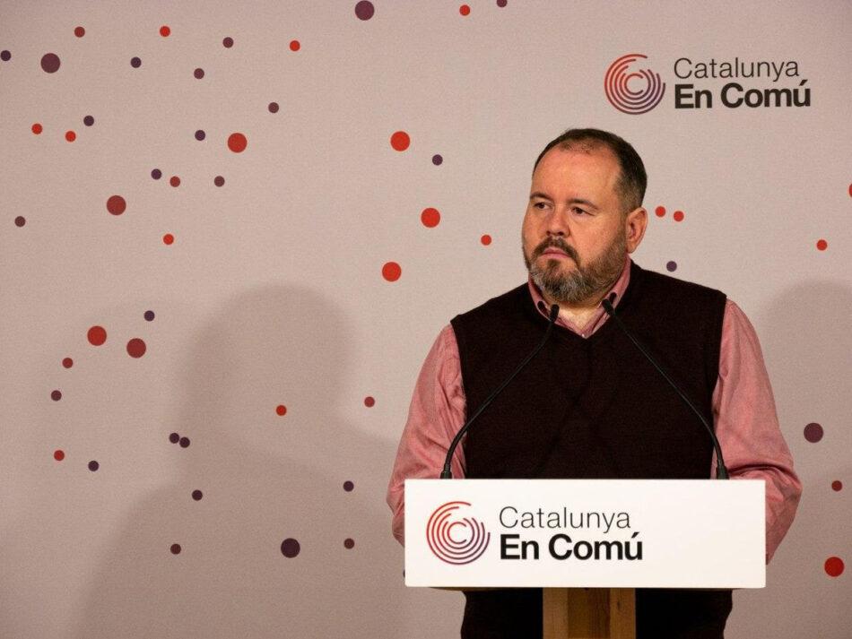 Mena: «La solució que necessita Catalunya és incompatible amb el govern de Torra i Aragonès»