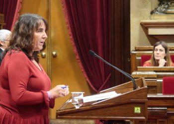 """Yolanda López: """"El Govern ha estat immòbil a l'hora de recuperar els diners dels catalans i catalanes"""""""