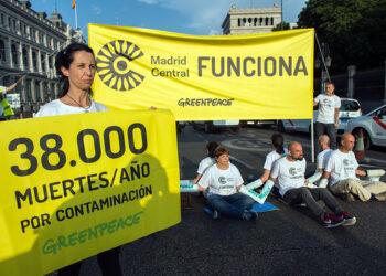 Madrid se consolida como 'la región del atasco', según Greenpeace
