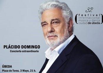 Cancelado el concierto de Plácido Domingo en el Festival Internacional de Música y Danza 'Ciudad de Úbeda' tras confirmarse las acusaciones de acoso sexual