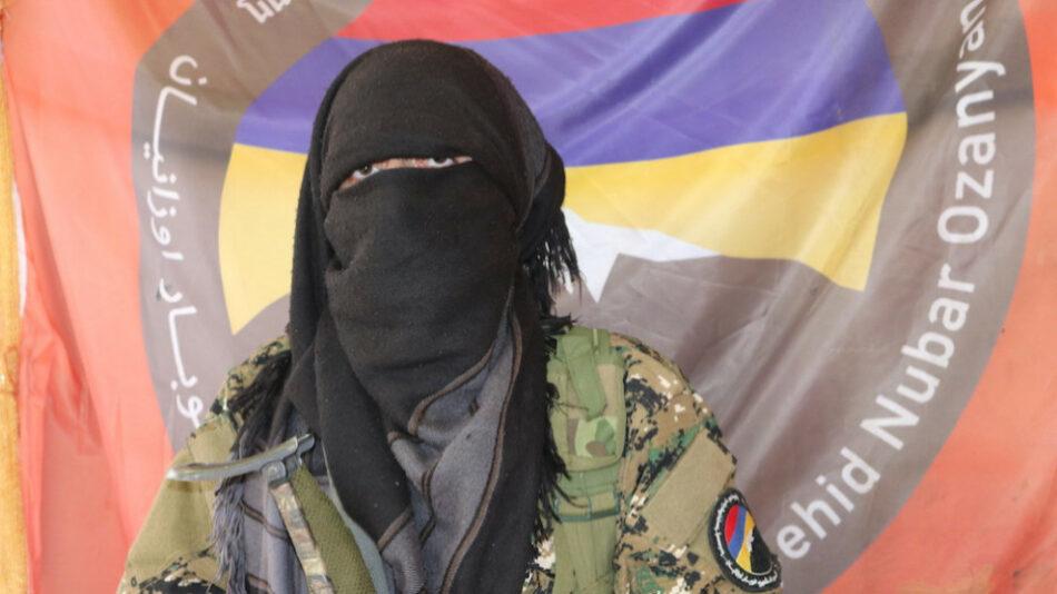 El batallón armenio en Rojava crece