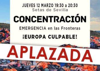 Desconvocada por el coronavirus la concentración en Sevilla contra los atropellos a las personas migrantes en las fronteras