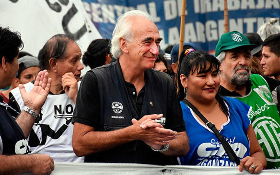 """Argentina. Ricardo Peidro: """"No hay solución dentro de esta sociedad desigual"""""""