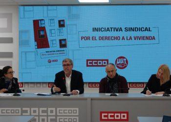Unai Sordo reclama valentía al Gobierno para garantizar el derecho a la vivienda a precio asequible