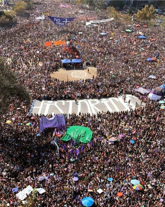 8M en Chile. Dos millones de feministas contra el patriarcado, el capitalismo y el dictador Piñera