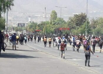 Chile. Lxs estudiantes secundarixs volvieron a ganar la calle