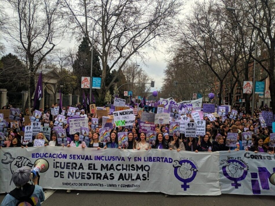 «La juventud empuja la lucha feminista anticapitalista»