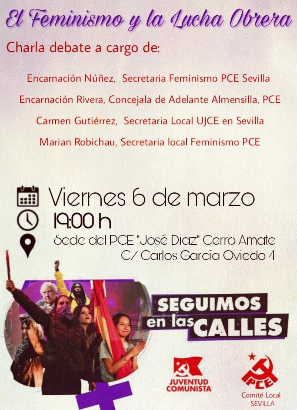 Acto 6 de marzo: «Feminismo y Lucha Obrera»