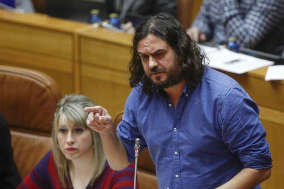 Antón Sánchez critica que Feijóo non compareza no Parlamento para render contas sobre os seus vínculos coa corrupción e as súas mentiras