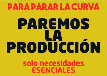 CNT exige al Gobierno que obligue a asumir el teletrabajo, suspenda toda actividad no esencial y anule los despidos productivos