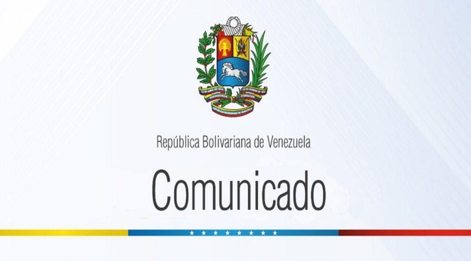 Venezuela rechaza renovación de infame Orden Ejecutiva de EE.UU. que busca justificar agresión