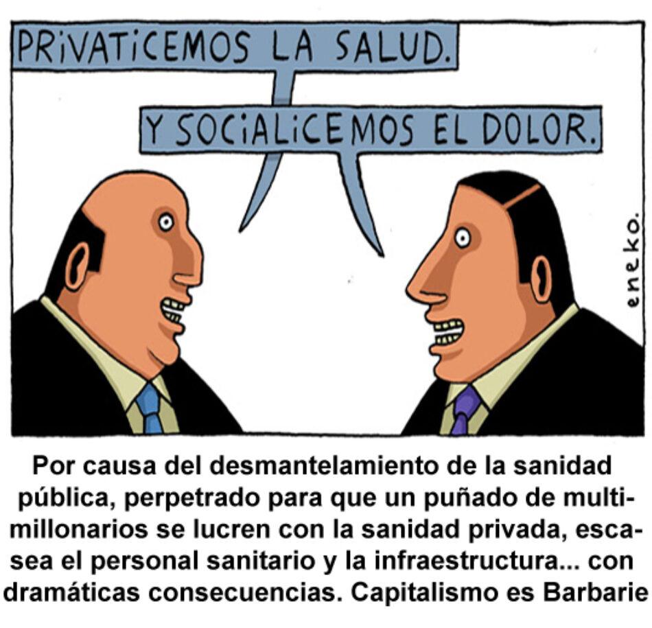 Coronavirus: entre privatización del sistema sanitario y otras perversiones capitalistas