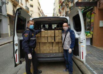 La Asociación Valenciana de Amistad con Cuba José Martí dona 40.000 guantes de látex