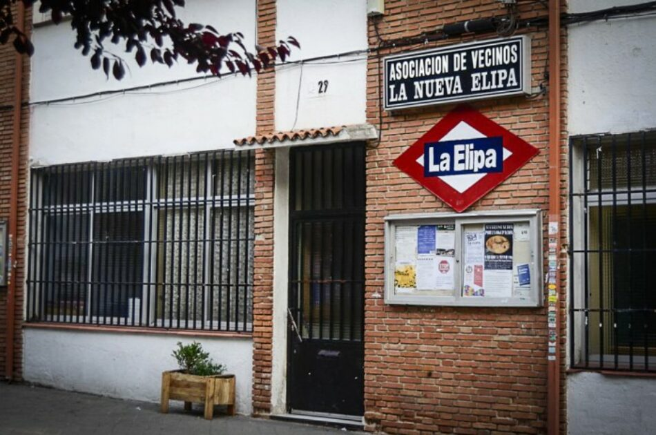 Vecinos y vecinas de 160 viviendas en el barrio de La Elipa alarmados