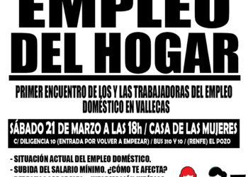 Primer encuentro de trabajadoras del empleo doméstico en Vallecas