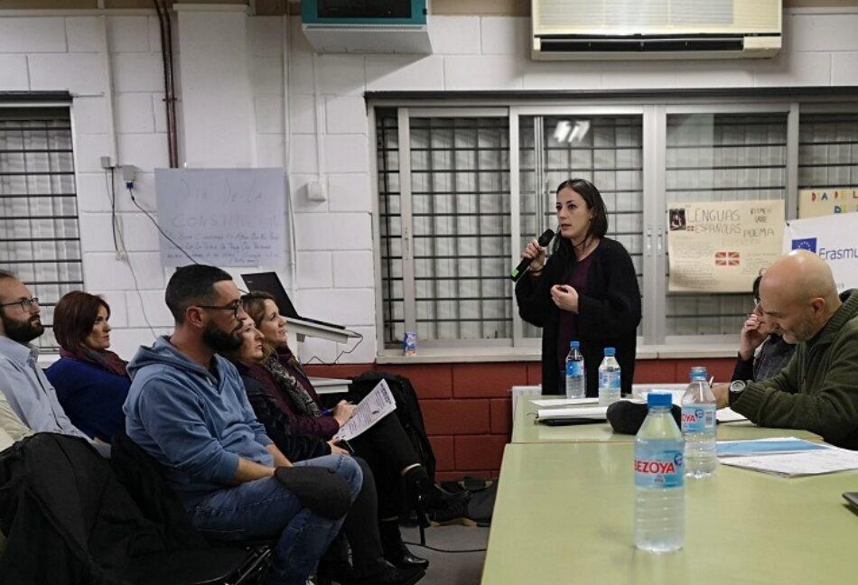 """Isa Franco: """"El movimiento feminista tiene que tener voz dentro del Pacto de Toledo»"""