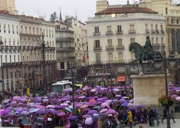 Manifestación y actos para el 8 de marzo: #RevueltaFeminista