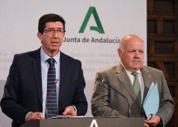 El vicepresidente andaluz, Juan Marín (Cs): «La Semana Santa no se va a suspender, porque tiene una fecha»