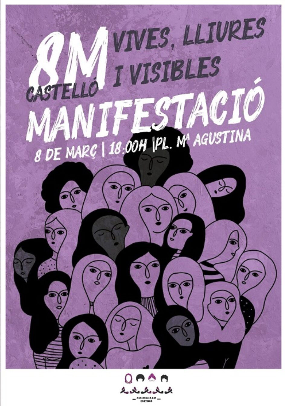 Denuncian «represión contra las trabajadoras de la Consellería de Igualdad de Castellón, que realizaron la huelga el 8M en 2018»