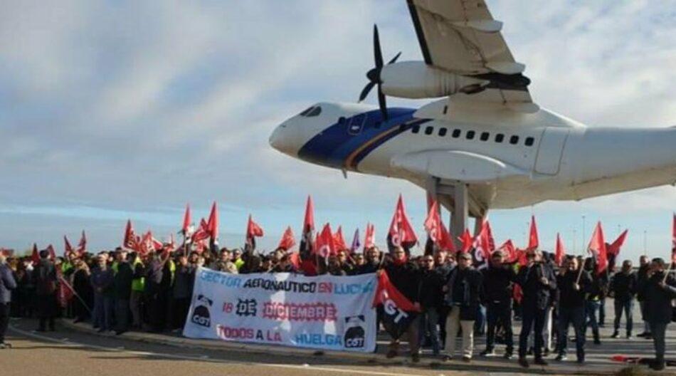 """CGT anuncia huelga indefinida en AIRBUS contra las medidas empresariales durante la crisis del """"coronavirus"""""""