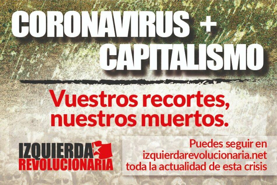 El Sindicato de Estudiantes se adhiere al manifiesto de Sindicalistas de Izquierda ante la crisis del coronavirus y la ofensiva de la patronal