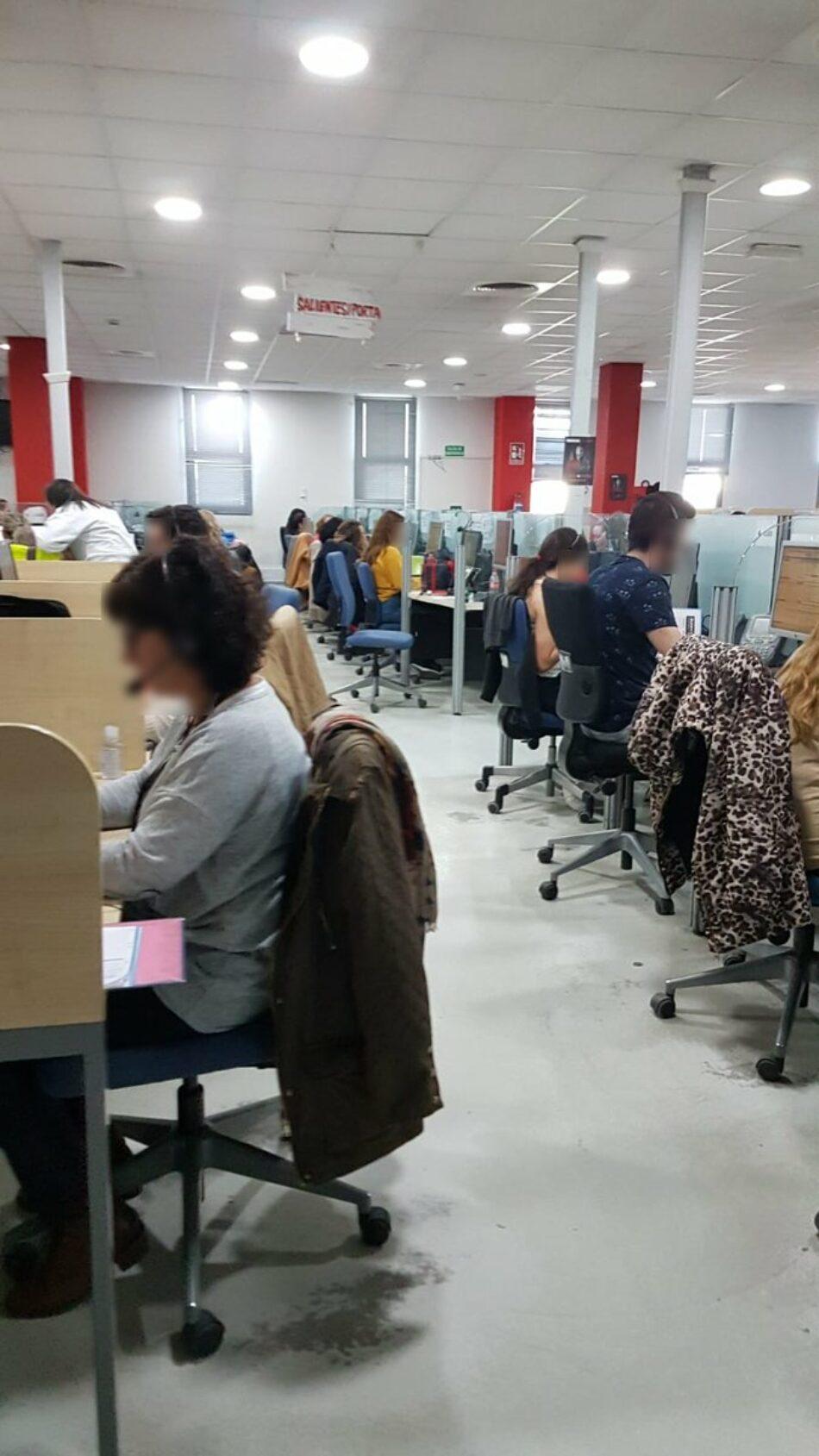 El Comité de empresa de Madrid paraliza la actividad de la principal subcontrata de telemarketing por el Covid-19