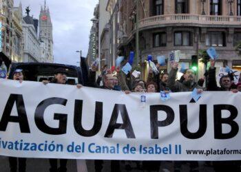 Ecologistas en Acción reclama una gestión ambiental y social del agua que no responda a los intereses económicos y financieros