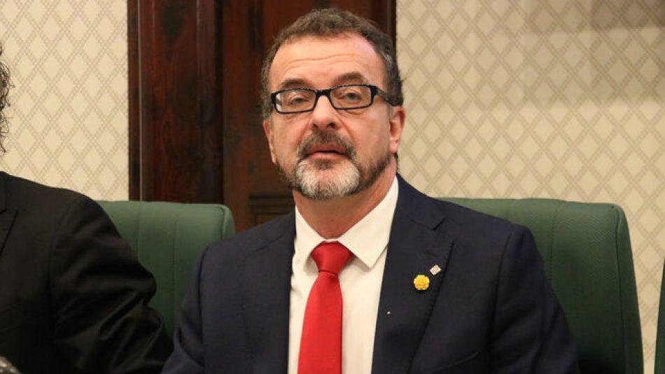 Segovia: «La dimissió del Conseller és un primer pas però cal esclarir que ha passat i com s'ha actuat»