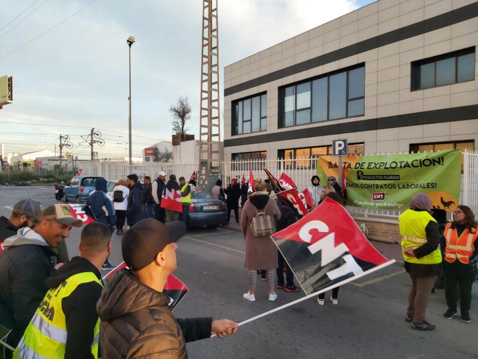 95% de seguimiento en la huelga indefinida de CNT en Productos Florida