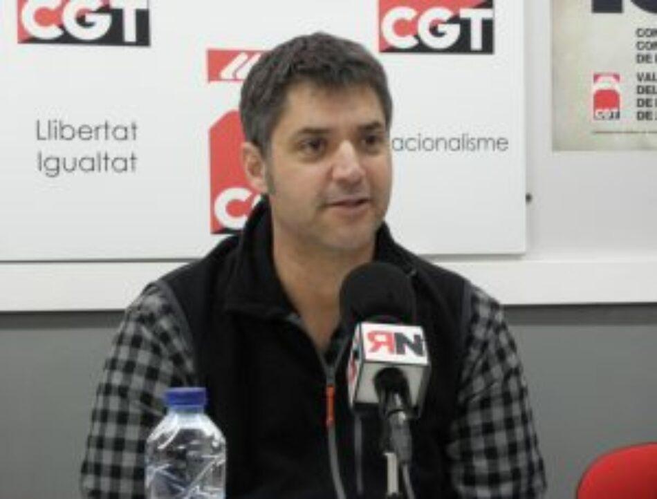 """Ismael Furió: """"Hay que demostrar a la clase trabajadora que CGT tiene mucho que decir"""""""