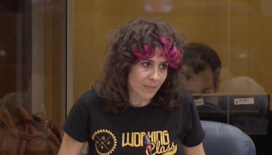 Vanessa Lillo exige que la Consejería de Sanidad informe a los grupos parlamentarios de la Asamblea de Madrid