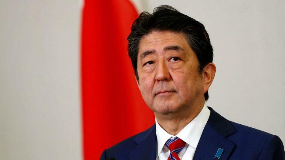 Shinzo Abe invoca la cuarentena en Japón