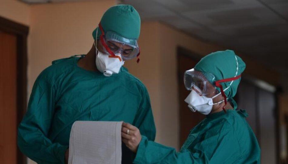 Vamos con el espíritu de cooperar: La Brigada Médica cubana llega a Italia