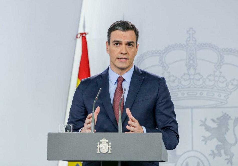 Coronavirus: FACUA pide a Sánchez participar en las reuniones que está manteniendo con agentes sociales
