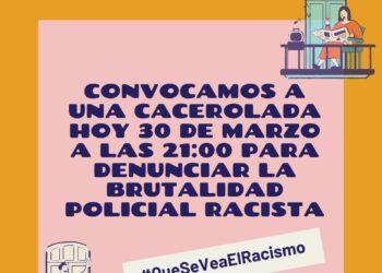 Convocada cacelorada contra la brutalidad policial en Bilbao, hoy a las 21:00 h.