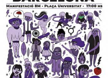 Vaga Feminista 8M2020 a Catalunya: totes les informacions d'enguany
