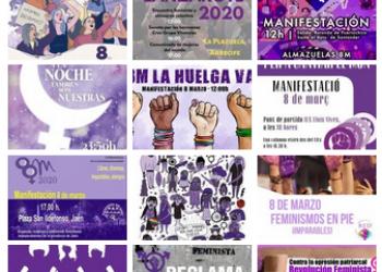 Convocatorias 8 de marzo 2020 – Día Internacional de las Mujeres