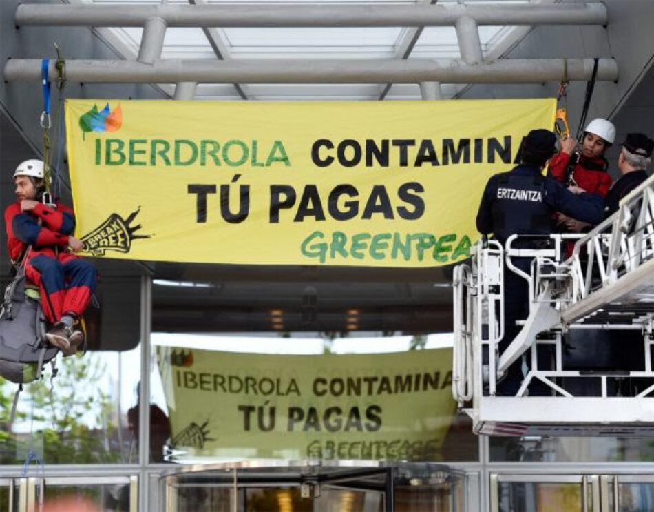 Greenpeace se persona como parte perjudicada en el caso Iberdrola por el espionaje de Villarejo